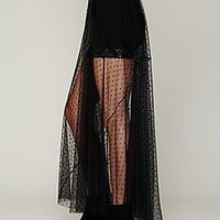 Dot Mesh Skirt at Free People Clothing Boutique