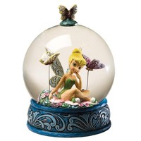 Disney Traditions designed by Jim Shore for Enesco Tinker Bell Water Ball Waterball 6 IN