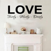 love - G Direct Wall Stickers