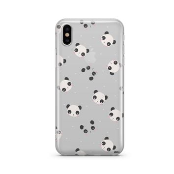 PANDAmonium - Clear Case Cover