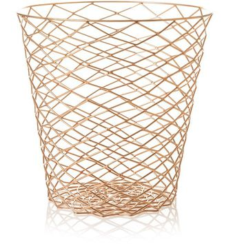 Copper Wire Bin | Oliver Bonas