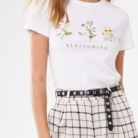 Floral Blossoming Graphic Tee