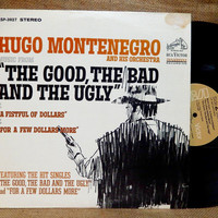 SALE SALE SALE The Good, The Bad and the Ugly - Original Motion Picture Soundtrack...and Other Motion Picture Themes - 1960s Vintage Vinyl R