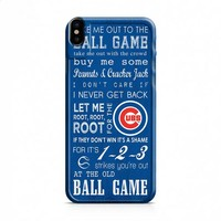Chicago Cubs 3 iPhone X case