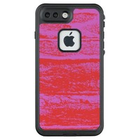 pink-red LifeProof® FRĒ® iPhone 7 plus case