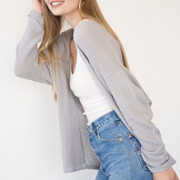 Lora Cardigan - Gray