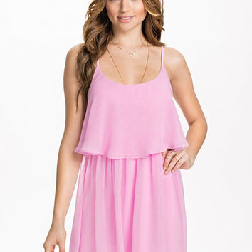 Double Strap Dress, NLY Blush