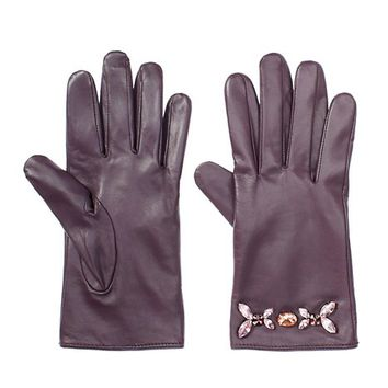 Glamour Girl Leather Gloves