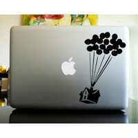 Up Balloon House Decal- Vinyl Decal Saying Sticker Cute Funny reddit- 15% Off until 2/15