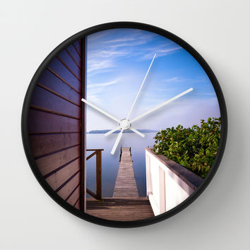 Not France... Wall Clock by HappyMelvin