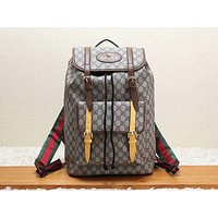 GUCCI street fashion men and women fashion casual travel bag backpack