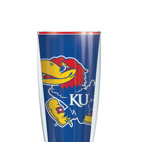 University of Kansas Tumbler - Customize with your monogram or name!