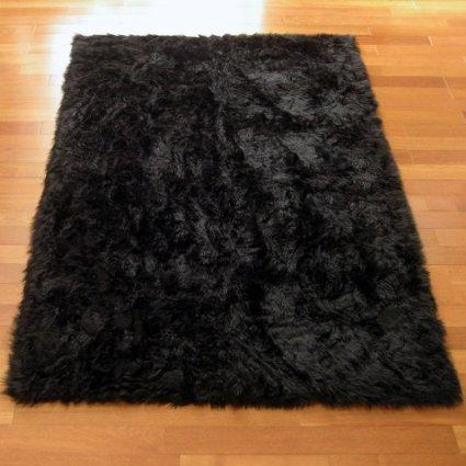 how to clean a bear fur for a rug