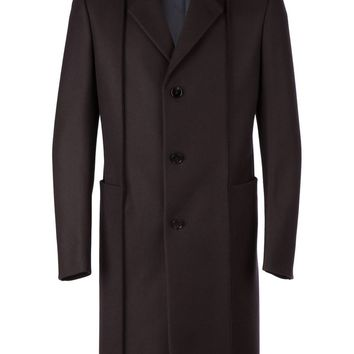 Maison Martin Margiela single breasted panelled coat