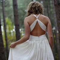 Athena Wedding Dress by TaraLynnStudio on Etsy