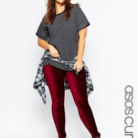 ASOS Curve | ASOS CURVE Stretch Cord Tregging at ASOS