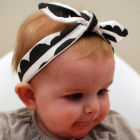 knotted headband, organic cotton headband, baby knotted headband, baby knot headband,tied headband, toddler headband, adult headband