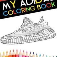 DCCK8TS My Adidas Coloring Book