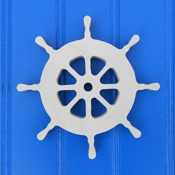 "9"" Unpainted Wooden Nautical Shapes Wall Hanging Room Decor Kids Crafts"