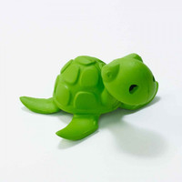 Natural Rubber Bathtub Pals: Green Sea Turtle