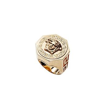 Versace - Greca and Medusa Ring