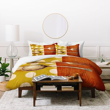 The Light Fantastic Fork And Spoon Duvet Cover