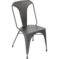 Austin Dining Chairs (Set of 2), Matte Grey