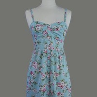 Buttons  Blossoms Dress - Vintage Dress Styles