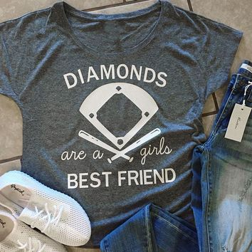 Diamonds Are A Girls Best Friend, T-Shirt