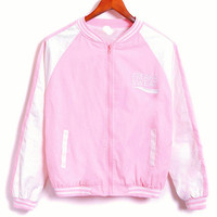 HARAJUKU FREAKA SWEAT BASEBALL JACKET from Storeunic