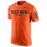 Buster Posey San Francisco Giants Nike 2014 MLB World Series Bound Player Nickname T-Shirt - Orange