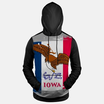 Iowa State Flag Hoodie (Ships in 2 Weeks)