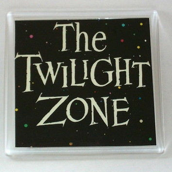 The Twilight Zone Coaster 4 X 4 inches
