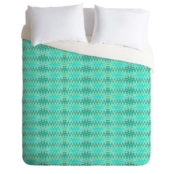 Ingrid Padilla Beauty Blue Duvet Cover