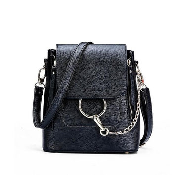 Circle Chain Backpack