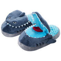 Silly Slippeez Children's 'Sneaky Shark' Slippers | Overstock.com