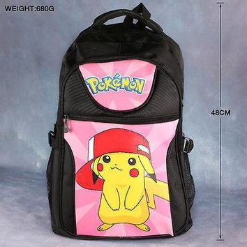 Japanese Anime Bag New  Gamers Laptop Shoulder Bag Cosplay Pocket Monster Backpack School Work College Bag Otaku AT_59_4