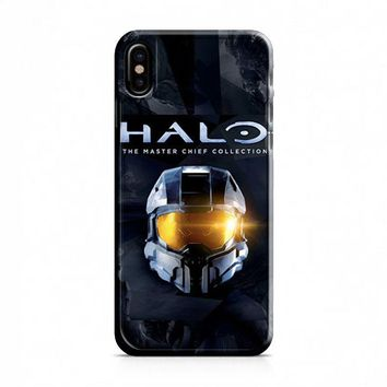 HALO THE MASTER CHIEF COLLECTION iPhone X Case