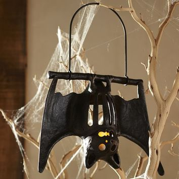 Hanging Bat Votive Holder