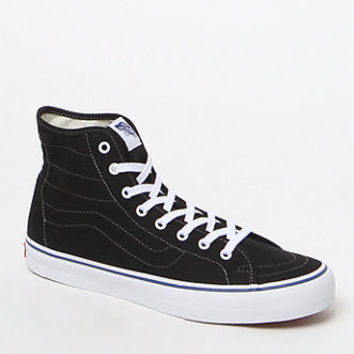 Vans Black & White Canvas SK8-Hi Decon Shoes at PacSun.com