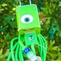 Monsters Inc Mike Wazowski iphone 5/6/7 Charger