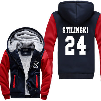 Hot New Teen Wolf Sweater Stilinski Fleeces Hoodie Logo Winter JiaRong Fleece Mens Sweatshirts Free Shipping