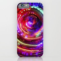 Colorful camera toss iPhone & iPod Case by Marcegaral