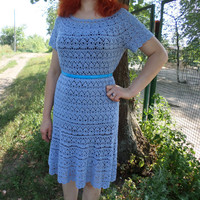 dress made of microfiber,knitted crochet dress,beach dress,dress for girls,lace dress,dress for summer,handmade dress