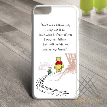 Disney Winnie The Pooh Quotes case for iPhone, iPod and iPad