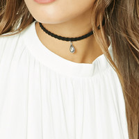 Braided Pendant Choker