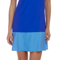 Jude Connally Pamela Dress in Cobalt Periwinkle