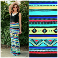 Havana Nights Maxi Skirt