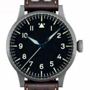 Laco Saarbrucken Original 45 mm Automatic Pilot Watch 861752
