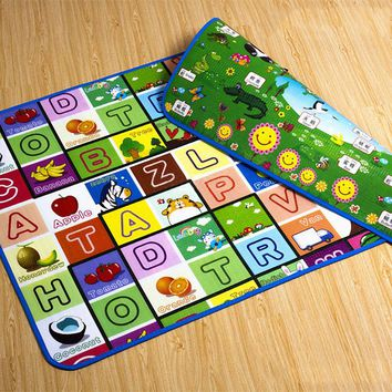 Children Game Mat Rug Puzzle Baby Play Mat Outdoor Indoor Toddler Toys Gift Kids Playmat Boy Girl Crawling Educational Eva Foam